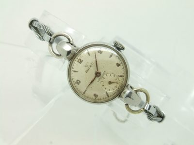This early ladies Rolex precision was looking tired and in need of restoration to bring it back to its former glory.