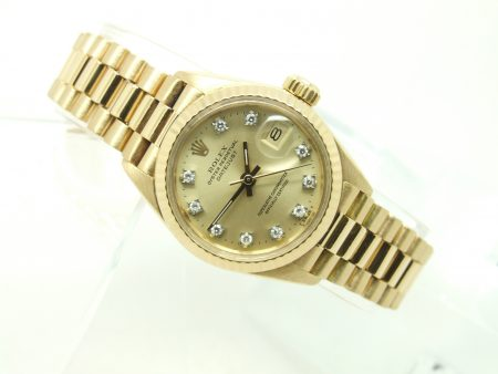 Rolex Ladies Diamond Dial