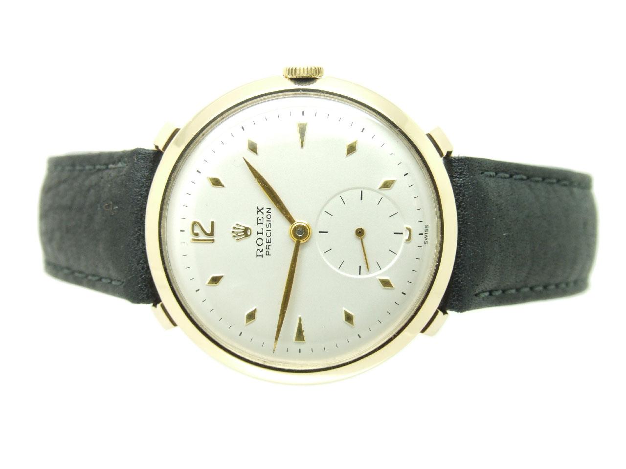 1954 Solid Gold Oversize Rolex Precision Vintage Watch Vw564 Vintage Winders