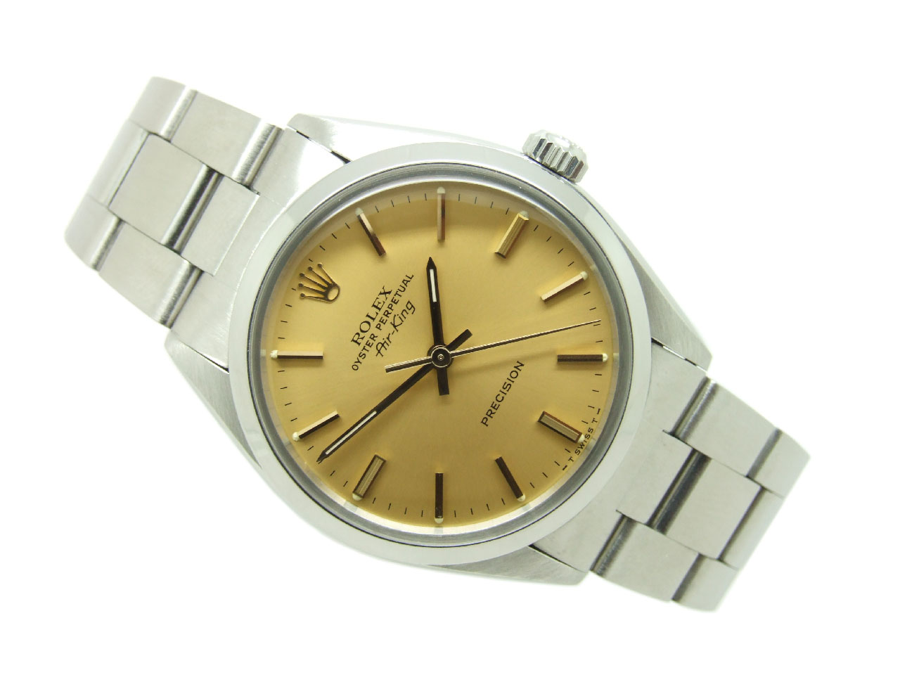 Sold 1980 Rolex Oyster Perpetual Air King Vintage Watch With Box Papers Vw641 Vintage Winders