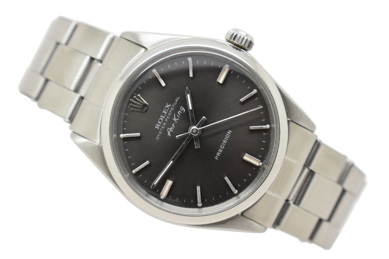 SOLD , 1968 Rolex Oyster Perpetual Air King Vintage Watch (VW743)