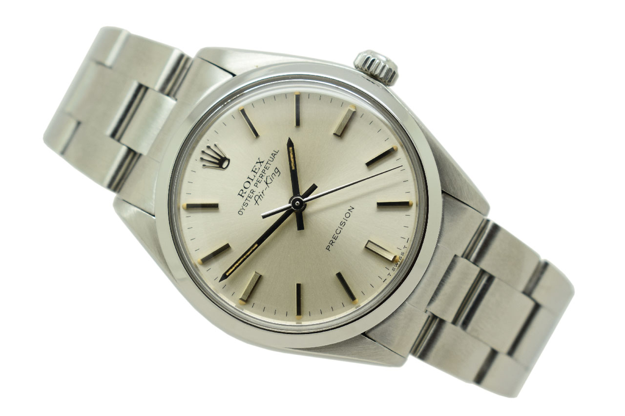 1980 Rolex Oyster Perpetual Air King Vintage Watch (VW772)